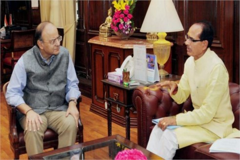 CM meets Union Finance and Defence Minister Shri Jaitley