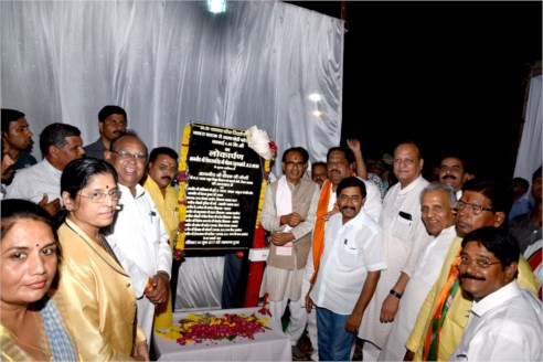CM dedicates Salakhedi four-lane road in Ratlam