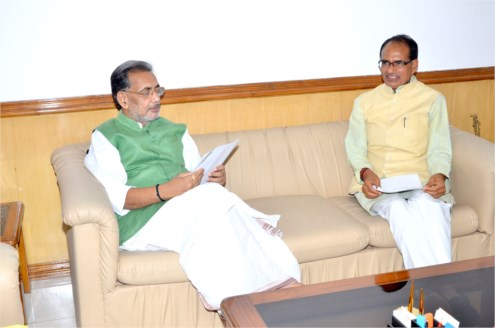 CM Chouhan meets Union Agriculture Minister Shri Singh