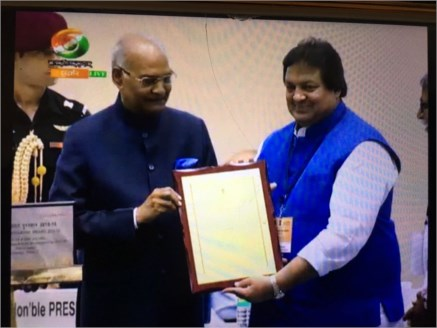 Madhya Pradesh Tourism wins Hall of Fame Award