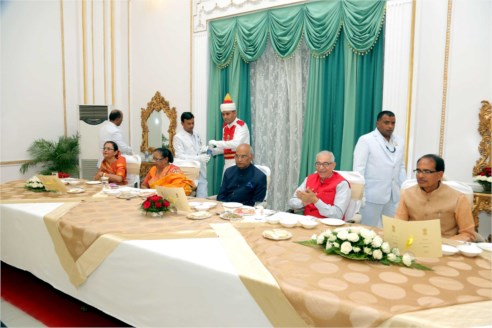 Governor hosts dinner in honour of President Shri Kovind