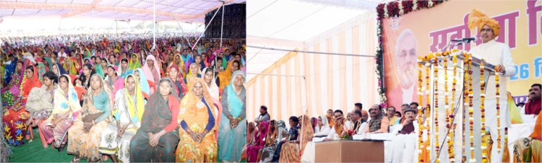Rs 4.5 crore to Sahariya families for nutritious meals