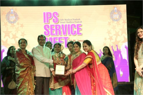 Colourful Cultural Evening of IPS Service Meet