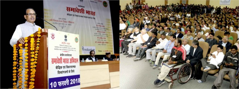 Madhya Pradesh leading state in handicapped welfare: CM