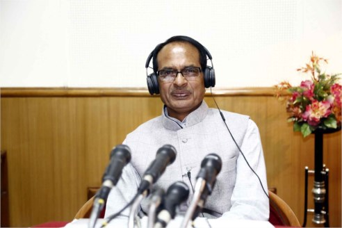 C.M. Chouhan shares views on different issues through Dil Se