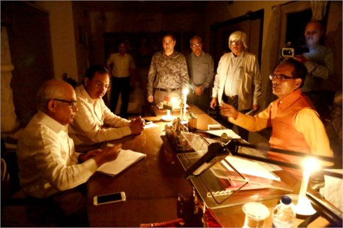 Earth Hour Day observed at CM House