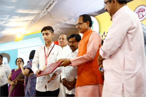 CM Chouhan announces 10th, 12th examination results of Board of Secondary Education
