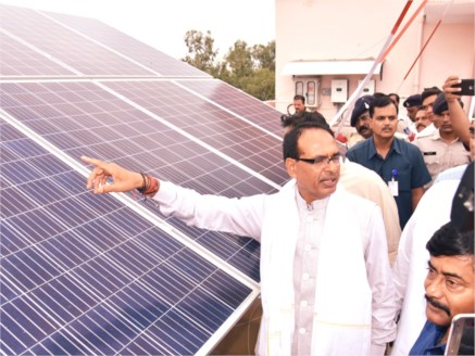 Solar Energy is an effective option to save Environment: Shivraj Singh Chouhan