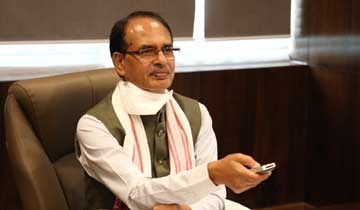 CM Shri Chouhan presses button to inaugurate two coal mines