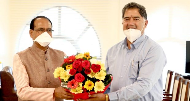 Chairman of Private University Regulatory Commission calls on CM Shri Chouhan